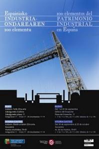 Cartel oficial de la Exposición en País Vasco