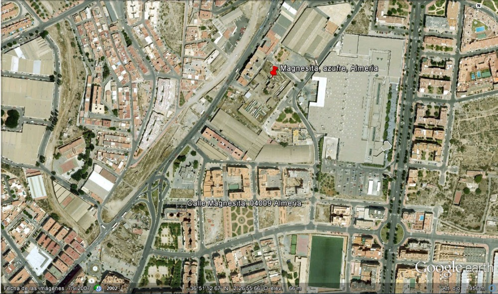 Chimenea La Magnesita, Almería (3/6)