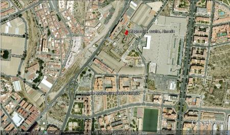 Localización de la chimenea La magnesita, Almería