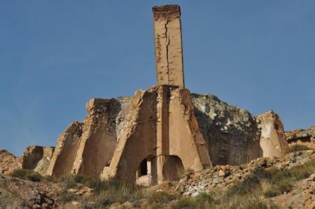 Chimenea Mina La partala, Benahadux, Almería