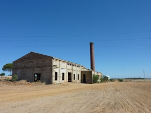 CENTRAL TERMICA Corrales Huelva