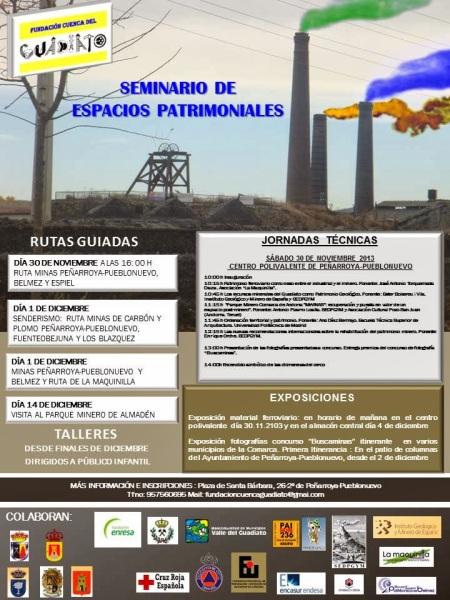 seminario espacios patrimoniales cuenca guadiato