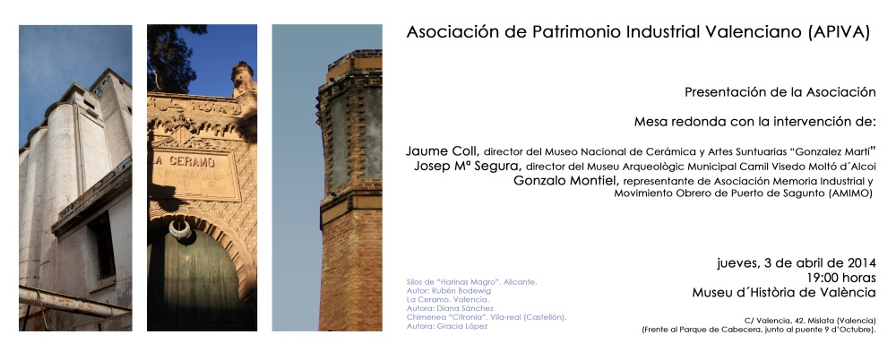Asociación de Patrimonio Industrial Valenciano/Valencian Industrial Heritage Association (2/3)