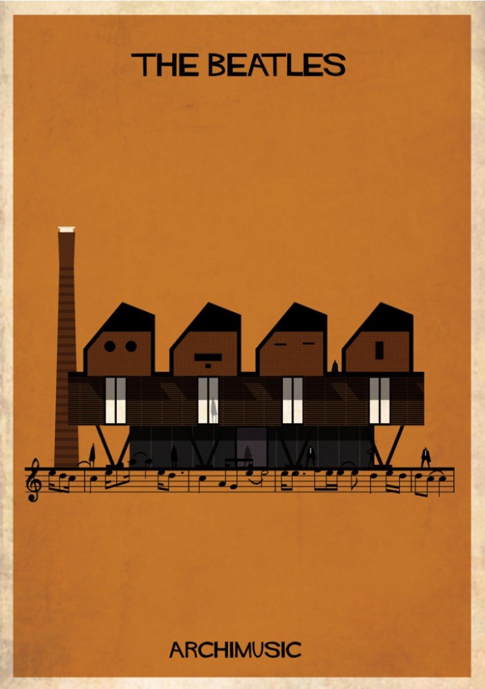 Música, arquitectura y chimeneas industriales/Music, architecture and industrial chimneys (2/3)