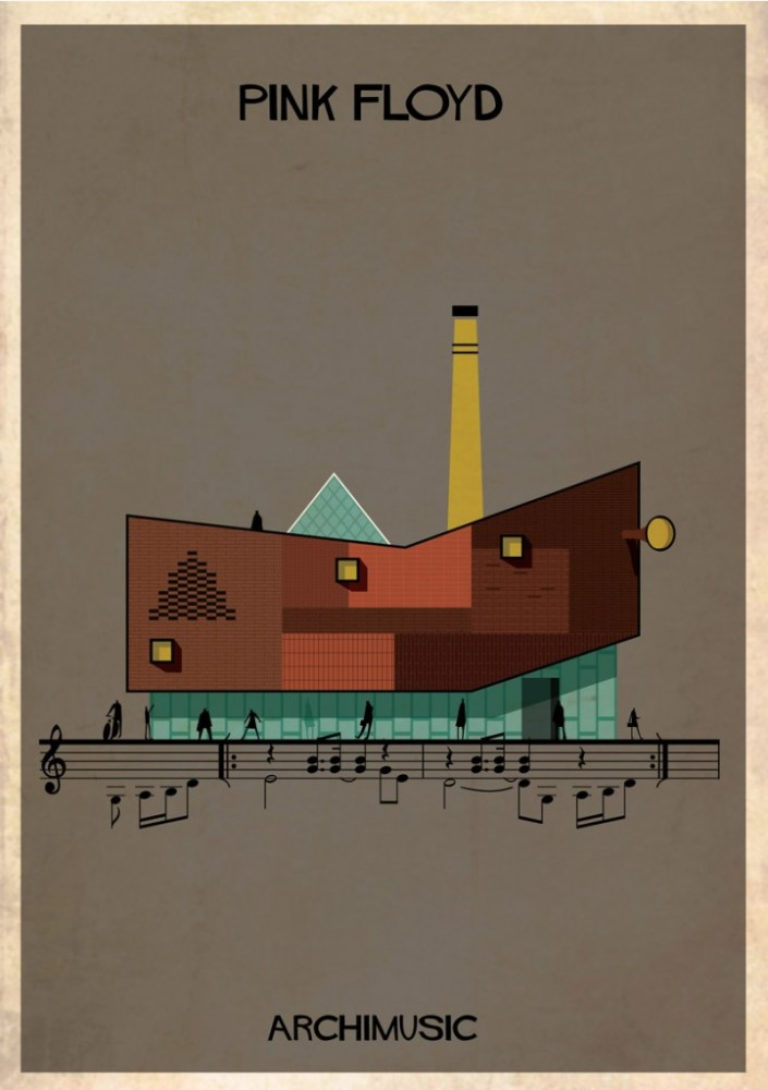 Música, arquitectura y chimeneas industriales/Music, architecture and industrial chimneys (3/3)