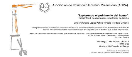 taller chimeneas invitacion