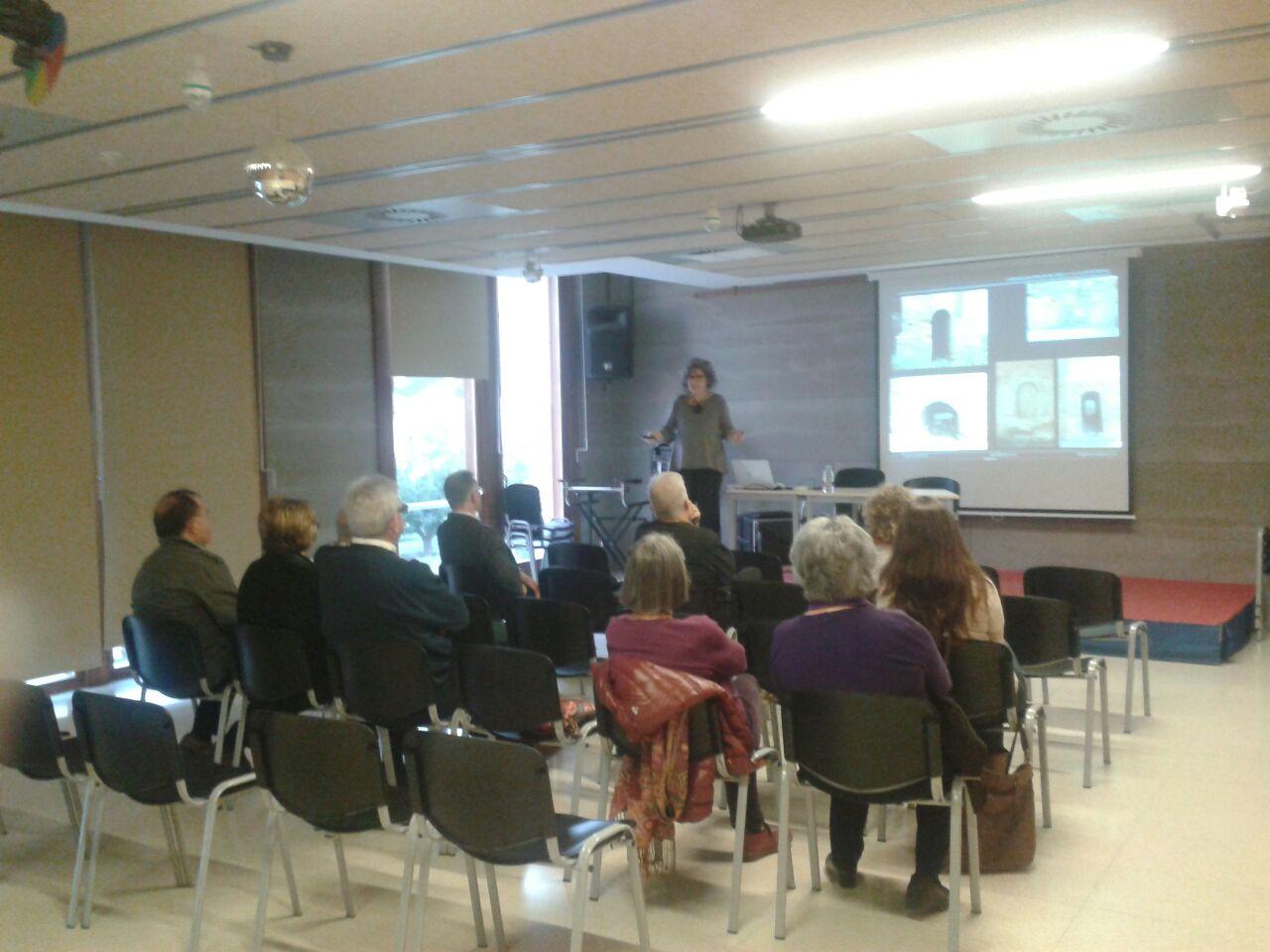 Imagen de la conferencia. Autor: Pedro Verdejo